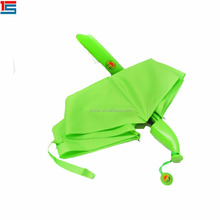Promotional banana umbrella cell phone umbrella with waterproof fabric for umbrella