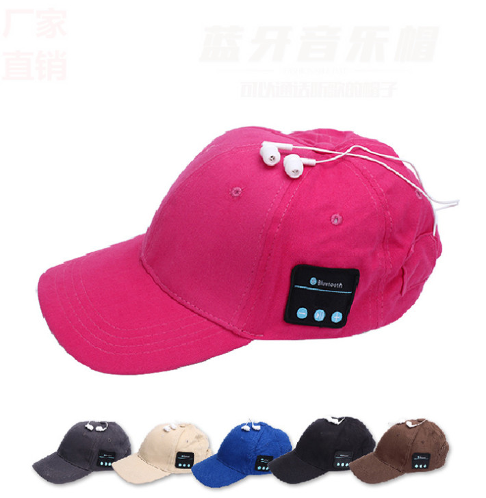 Hands-free for Smart Phone Tablet Wireless Sport Bluetooth Music Hat <strong>Cap</strong> Speaker Headset Sport Baseball <strong>Cap</strong>