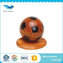 2017 New products hot sale adult wooden puzzles baby 3d puzzle ball toy