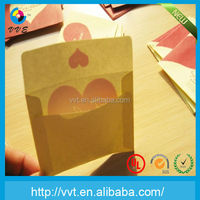 custom high quality recycled brown kraft envelope