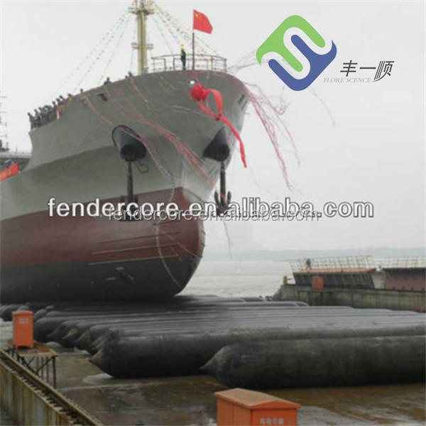 inflatable barges launching / lifting rubber airbag, floating pontoons