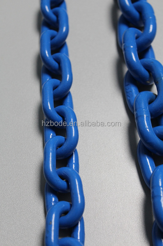 cargo chain g80 , din 5686 knotted chain ,grade 80 chains 5mm