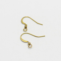 18mm with coil & ball jewelry s hooks ear wire hooks