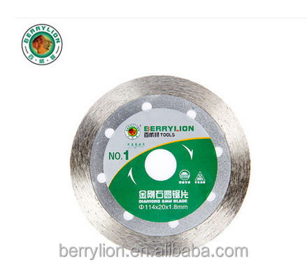 Berrylion JR-5 Diamond Saw Blade Wet Circular Saw Blade