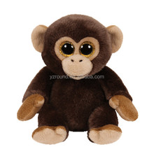 Classic animal toy zoo adorable welcome Monkey lovely big eyes celebrtion toy