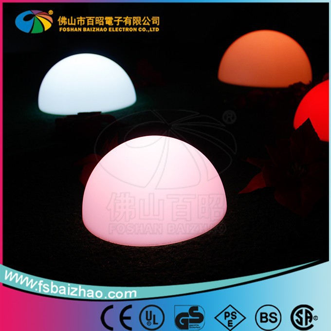 good quality Glowing Led Ball/led Rechargeable Ball Light/led Colour Changing Ball