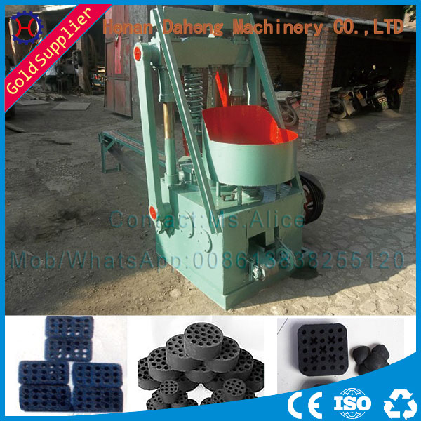 Home Use Single Person To Operate Cheap Honeycomb Briquette Machine