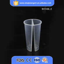 Wholesale cold drinking 22oz twins pp cups plastic