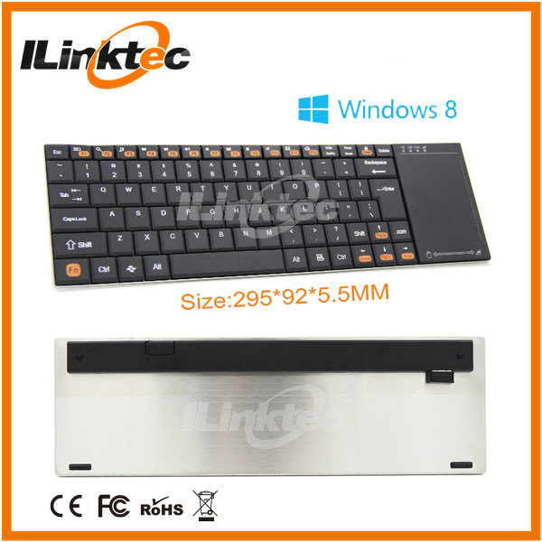Top selling mini bluetooth keyboard for samsung galaxy s4 and smart TV