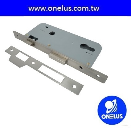 hot selling chrome finished iron mortise door lock outer case