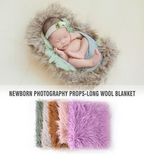 Newborn wool blanket mini pocket blanket backdrop layer background / Newborn photography props Baby photo basket stuffer