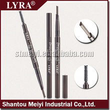 korean material Longlasting Waterproof Automatic Eyebrow Pencil with eyelash brush