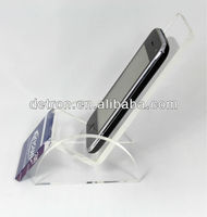 Acrylic Cell Phone Stand & Lucite Phone Display Rack & Acrylic Mobile Phone Holder A314