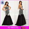 Custom Made Sweetheart Neck Mermaid Heavy Beaded Evening Dress 2016