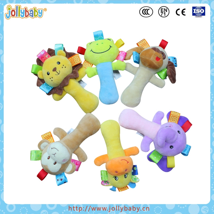 Hot sell good quality baby squeaky toy,infant baby toy rattle