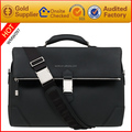 Custom office man leather business bags with laptop bag