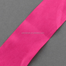 Solid Color Wholesale Ribbons, Ribbon for Cake, DeepPink, 40mm, 100yards/roll(SRIB-R007-4cm-08)