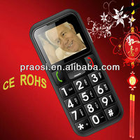 old man with big button dual sim/FM radio bluetooth/mp3 mp4/flashlight mobile phone