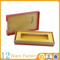 Rectangle corrugated wax coated seafood boxes