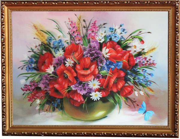 2015 New design 3D Flower Picture