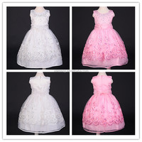 Alibaba china latest design beautiful girls party dresses 2-10 years