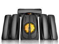 Best selling dj bass 5.1 ch multimedia speaker system with competitive price in the market