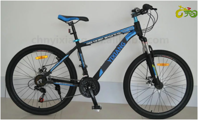 26'' lightweight black and blue downhill mountain bike MTB able to conquer any offroad trails for sale