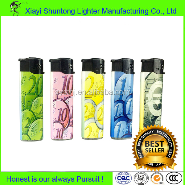 Competitive Price Long Working Transparent Refillable Lighter