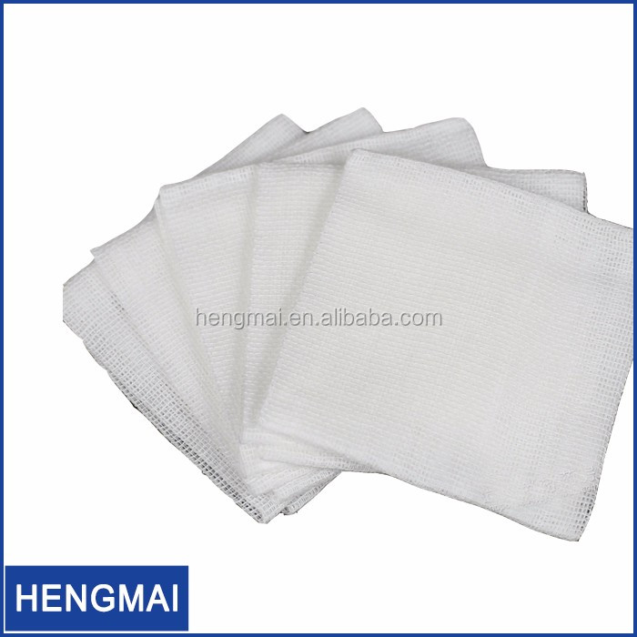 Medical Non Sterile Dental Cotton 4x4 Gauze Sponges Gauze Swab Compress Pads