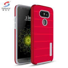 Cost-effective red mobile phone shell for lg g5 g3 hard hybrid case
