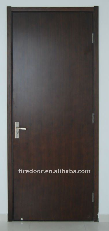Timber fire rated door
