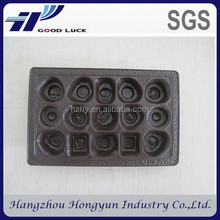 China supplier wholesale custom eco-friendly biodegradable chocolate plastic blister packaging tray