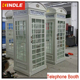 OEM/ ODM Steel Indoor telephone booth classic style