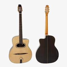 Wholesale price Custom Aiersi brand Acoustic Gypsy jazz guitar for sale