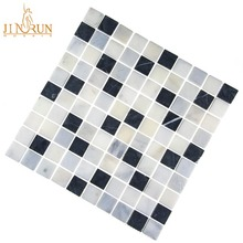 black and white Tile Mosaic Table Patterns