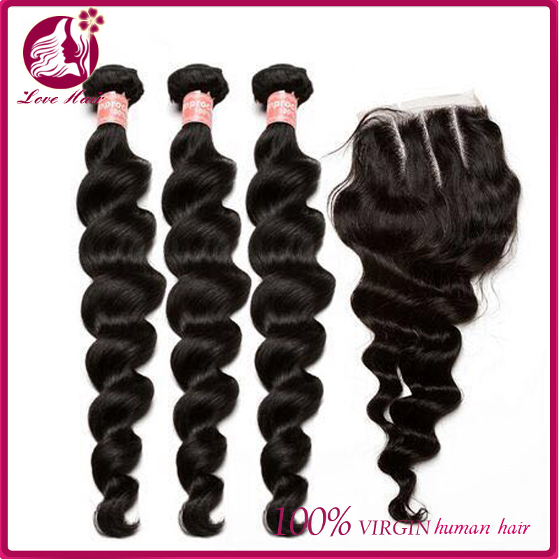 10a grade 100% unprocessed virgin peruvian human hair extension loose body wave weave 4 bundles deals