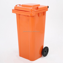 Cheap eko large home outdoor street hdpe smart 120l plastic recycle dust bin with wheels