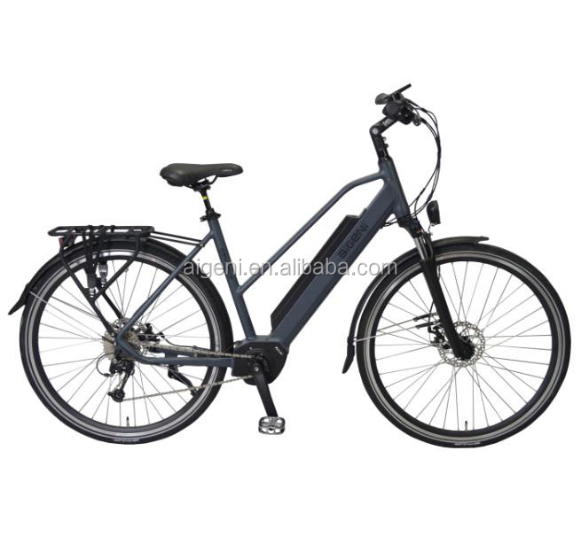 New lady/women unipue style electric city bikes 700C mid motor electrc bike/ebikes