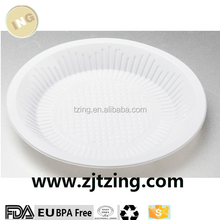 White PP Cheap Reusable Hard Plastic Disposable Plates