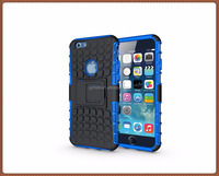 Wholesale Hot Selling Tough Armor Case for iphone 6 4.7 inch Mobile Phone Hard Cover Back TPU for iPhone 6 / 6s 4.7""