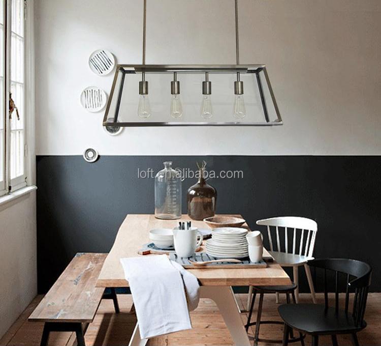 european retro hanging lamp vintage kitchen table pendant lights