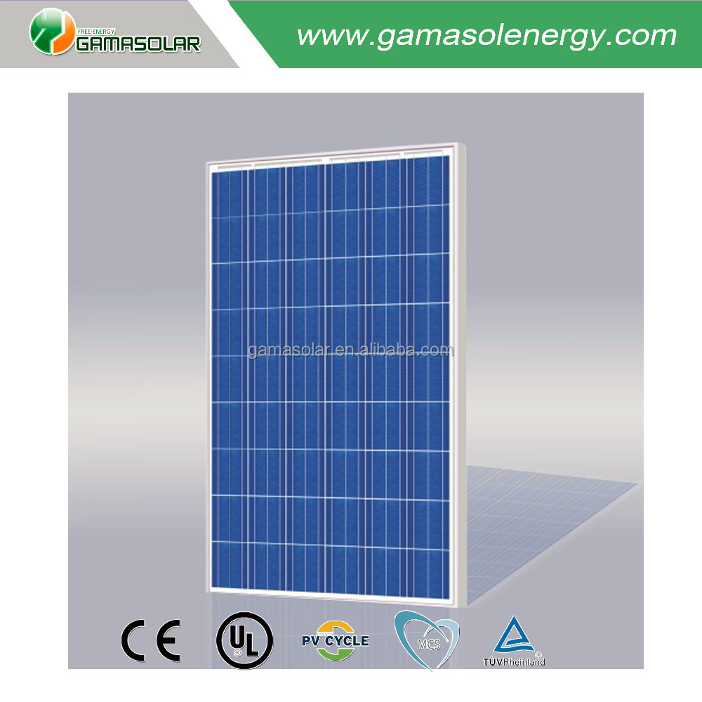 Solar street light sun energy 250w polycrystalline solar panel for home