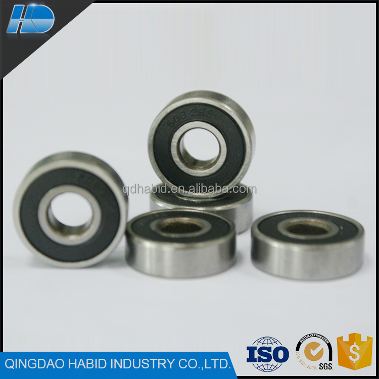 Top Selling Deep Groove 608 2rs Ball Bearings Wholesale Custom Miniature Bearing