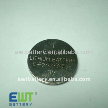 Li-MnO2 batttery button cell 3.0V CR3032