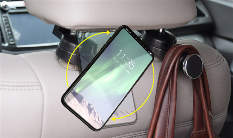 2018 private design strong magnetic car headrest hook