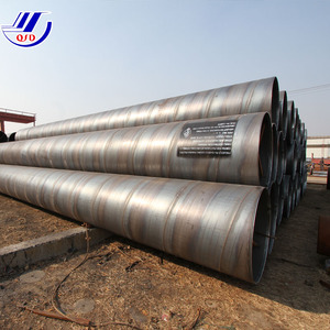 Large diameter spiral steel pipe on sale in stock, welded 10 inch carbon steel pipe schedule 40