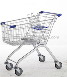 Hot sale convenient European style shopping trolley