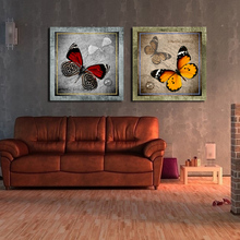 Canvas Print Home Decoration Art butterfly painting of Wall Hanging