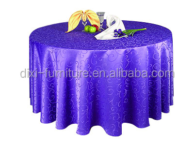 9 people table cover Customized hot fashional soft decorative round table cloth for wedding,dining,hotel,coffee or banquet