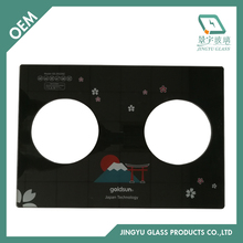 5mm 6mm 7mm 8mm high grade tempered gas stove glass